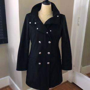 Black Calvin Klein 3 Season Coat